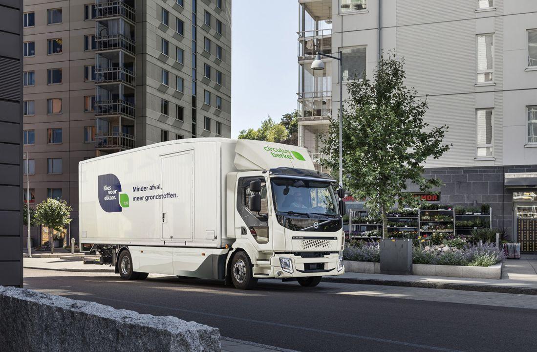 Circulus-Berkel zet stap richting zero-emissie met Volvo FL Electric bakwagen