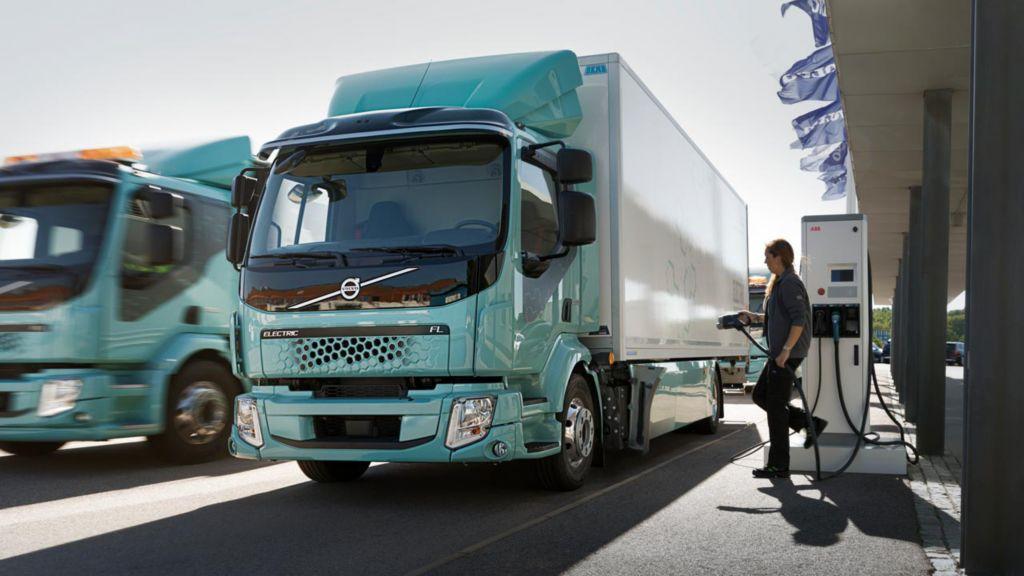 Elektro-Lkw von Volvo Trucks