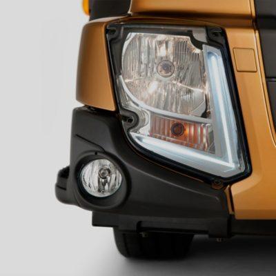 Volvo FL features headlight studio