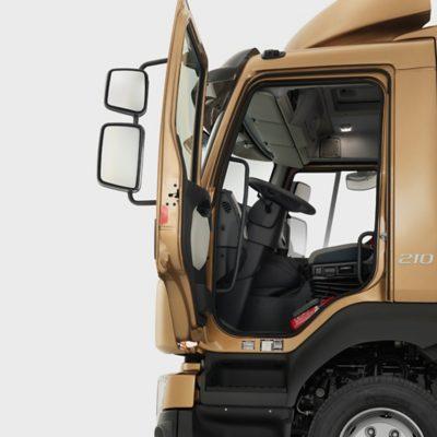Volvo FL features safety cab studio