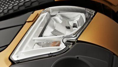 Leistungsstarke LED-Leuchten: Aber niedriger Stromverbrauch.