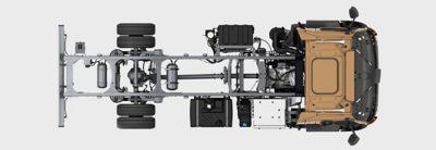 Nebenantriebe: werksseitig montiert