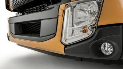 Volvo FL safety cab headlight studio