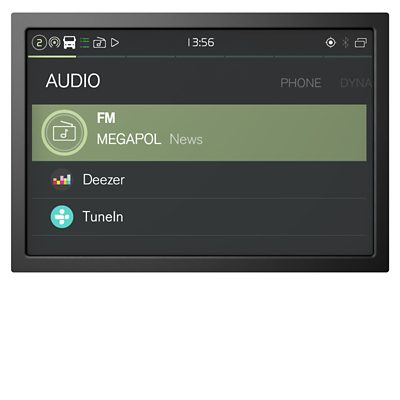 Paquete de sonido del Volvo FM
