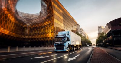 The new gas powered Volvo FM LNG