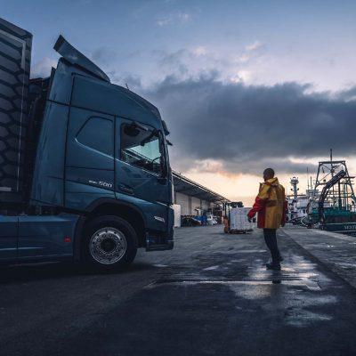 Volvo FM LNG är perfekt för tunga regionaltransporter.
