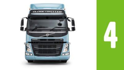 Reduza os custos de combustível com o Volvo FM GNL