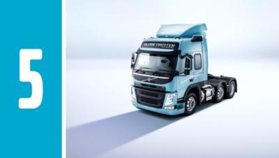 Volvo FM LNG 的操控性與性能則與原先的 Volvo FM 沒有兩樣。