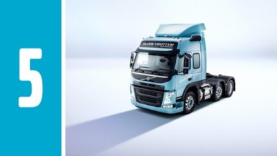Volvo FM LNG drives and performs just like the Volvo FM you know