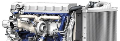 The Volvo FM is available with a wide range of diesel- and gas-powered engines.