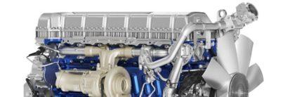 Volvo FM fås med en lang række diesel- og gasdrevne motorer.