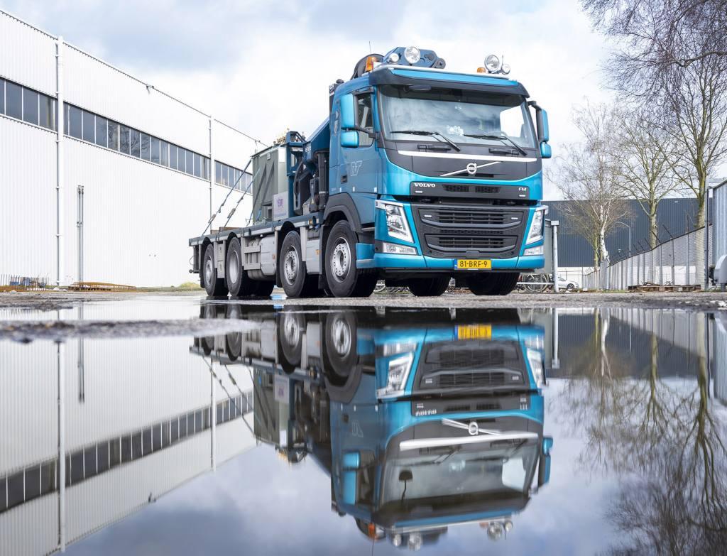 Maximaal laadvermogen voor Rens Transport met Volvo FM
