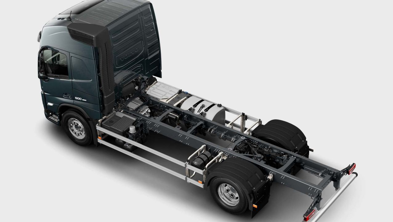Volvo FM specifications for chassis
