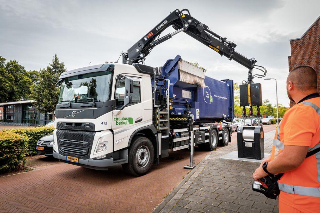 Circulus-Berkel neemt drie Volvo's FM 6x2 TAG-XL in gebruik