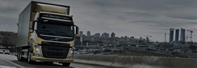Volvo FM in city