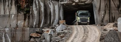 The Volvo FMX is developed for challenges in tough conditions.