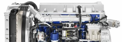 The Volvo FMX offers a wide range of efficient engines.