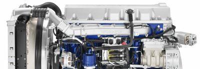 O Volvo FMX oferece uma vasta gama de motores eficientes.