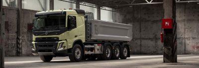 Подготовьте силовую передачу для Volvo FMX и условий его эксплуатации.