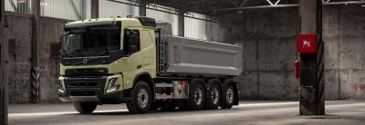 Personalize a linha motriz do seu Volvo FMX e para a sua operação.