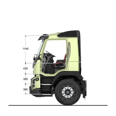 Volvo FMX specifications cab interior sideview