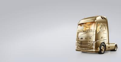 Volvo FH, el camión dorado