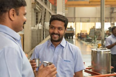 Trust is one of Volvo Group's core values
