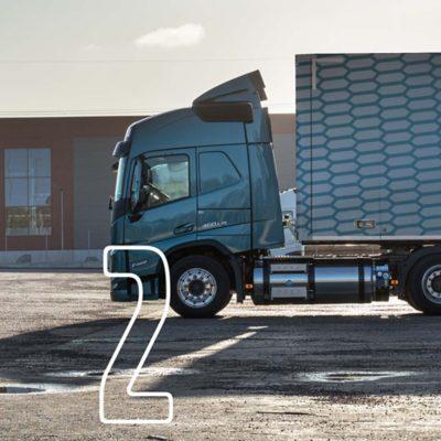 Volvo FH und FM mit Gasantrieb