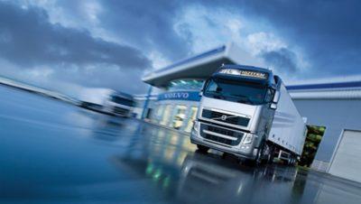 Calidad de los camiones Volvo a largo plazo