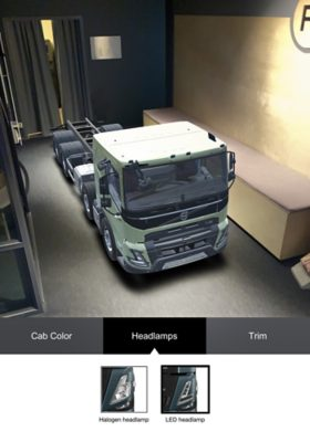 Volvo Truck Builder Volvo FMX