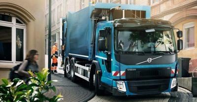 Volvo FE førerhus med lav indstigning