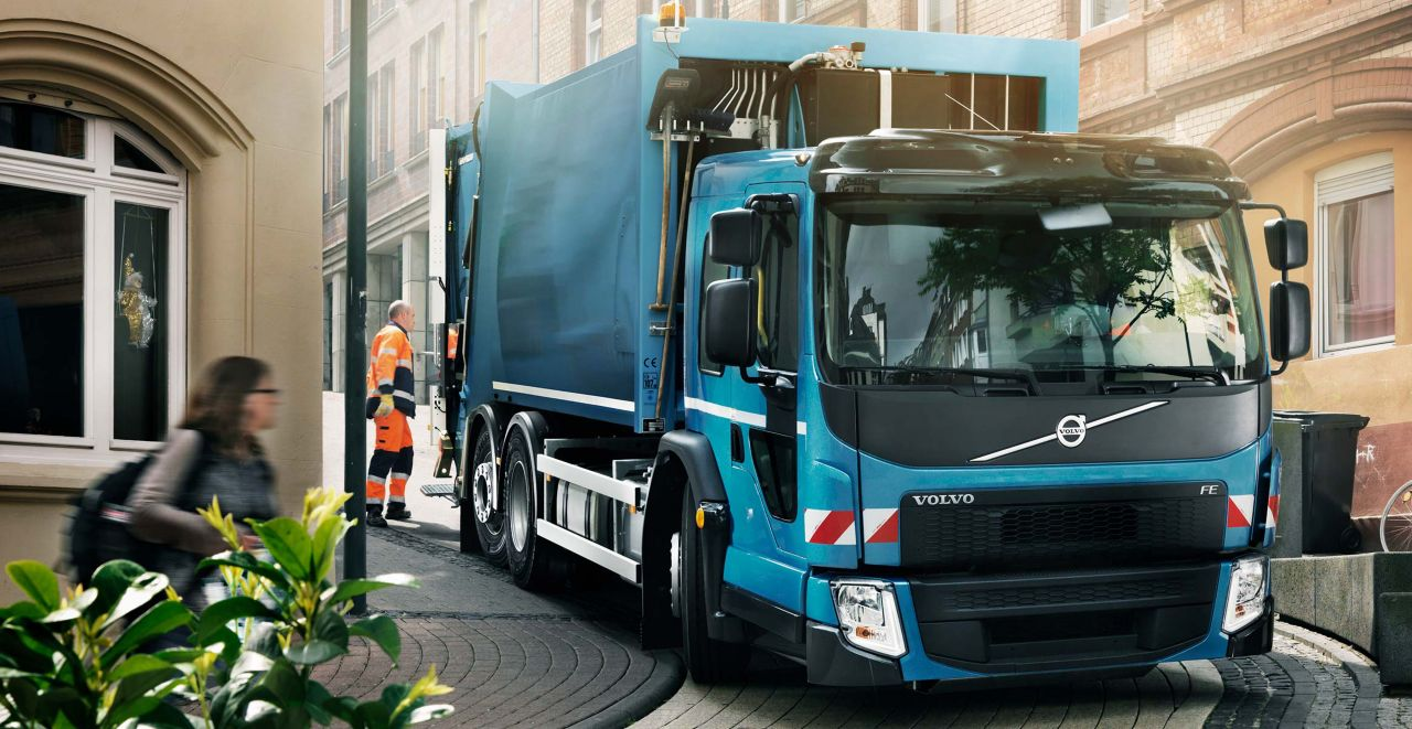 Volvo FE - Cabine à accès surbaissé
