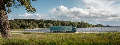 En Volvo FM med 20 procent mindre miljöavtryck.