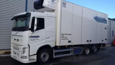 Volvo FH kylmäkoriauto vuokrattavaksi