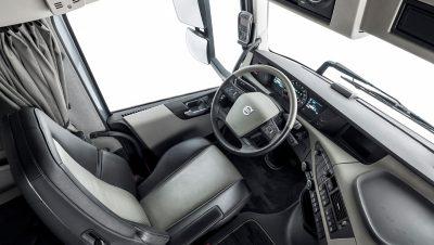 The Volvo FH Classic interior.