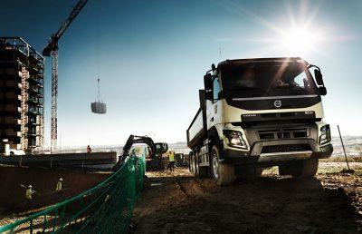 O Volvo FMX Classic está mais confiante do que nunca.