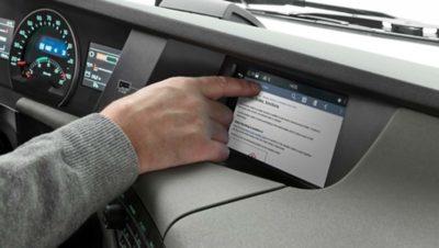 Manual del conductor en pantalla integrada