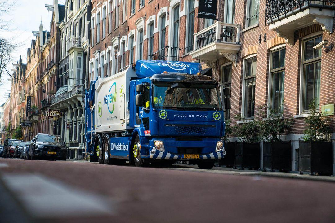 """Meinderdjan Botman, Managing Director Renewi over eerste elektrische truck: """"De actieradius is niet belemmerend"""""""