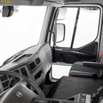 Volvo FE - une bonne visibilité panoramique