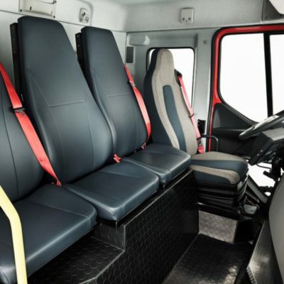 Volvo FE 4 seats and walk-through
