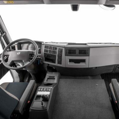Volvo FE deux sièges et confort des passagers