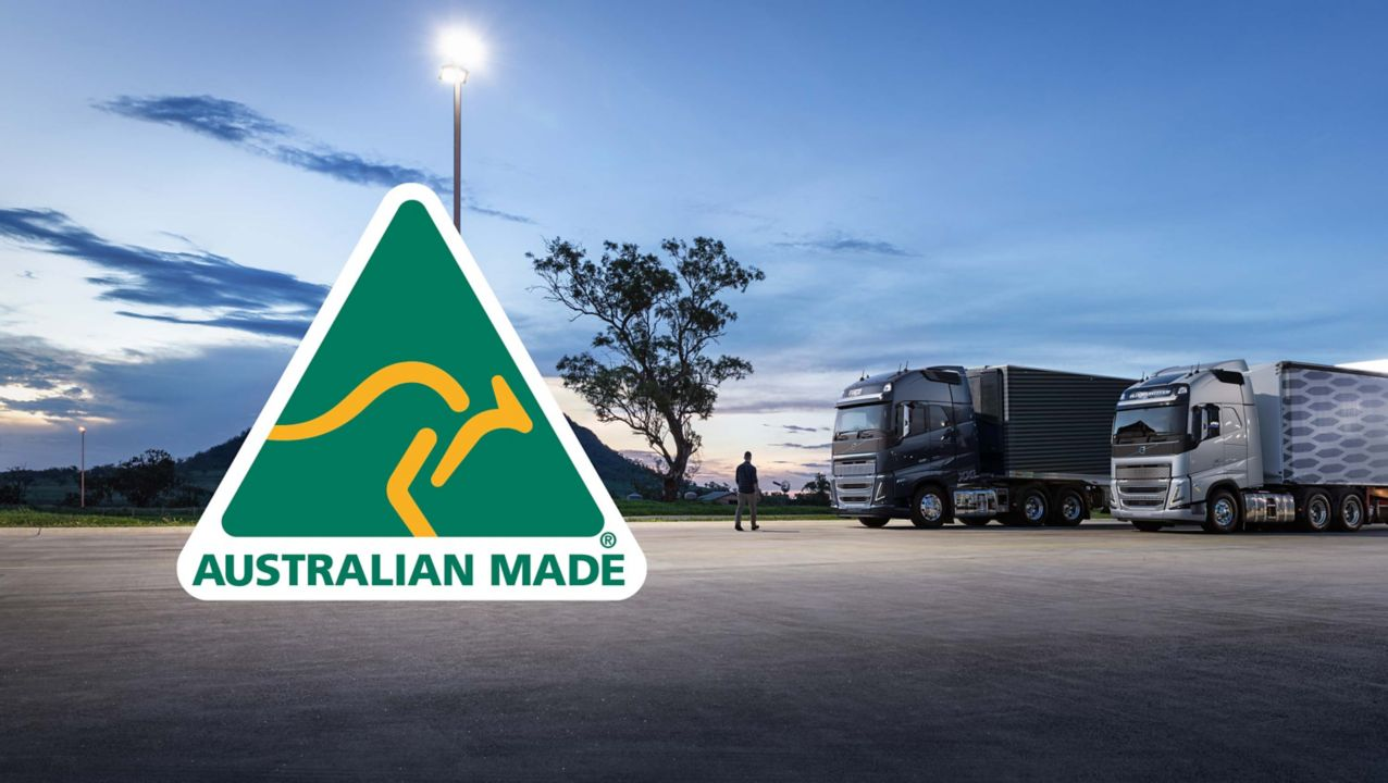 Our truck made in Wacol, Brisbane, Queensland are certified with the Australian Made logo.