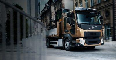 Chassis van de Volvo FL