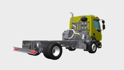 出廠前即已針對掃街車的配備做好準備