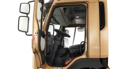Wielkości kabiny Volvo FL