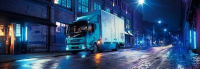 Volvo FL Electric – לביצוע משלוחים בסביבה עירונית.