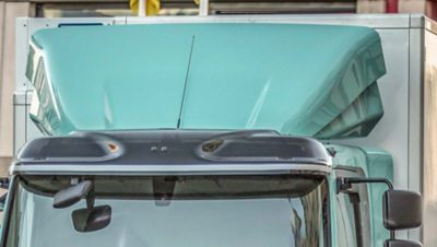 Volvo FL roof air deflector