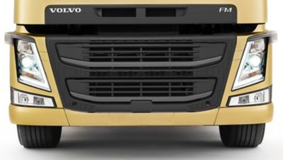 Volvo FM front underrun protection system