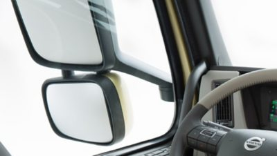 Volvo FM mirrors and visibility