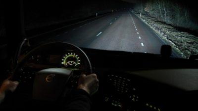 Volvo FM night mode